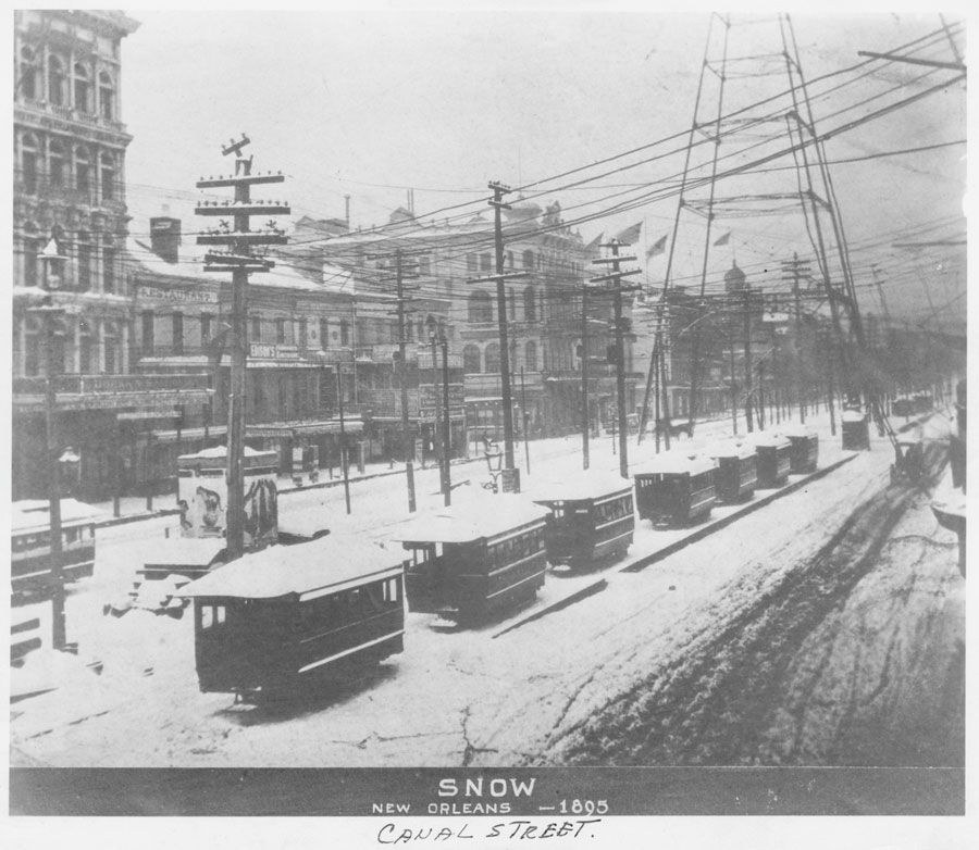 That Time it Snowed - in New Orleans! | French Quarterly