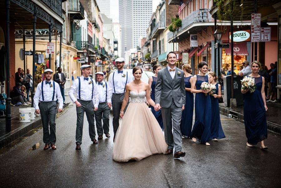 Maison dupuy courtyard wedding